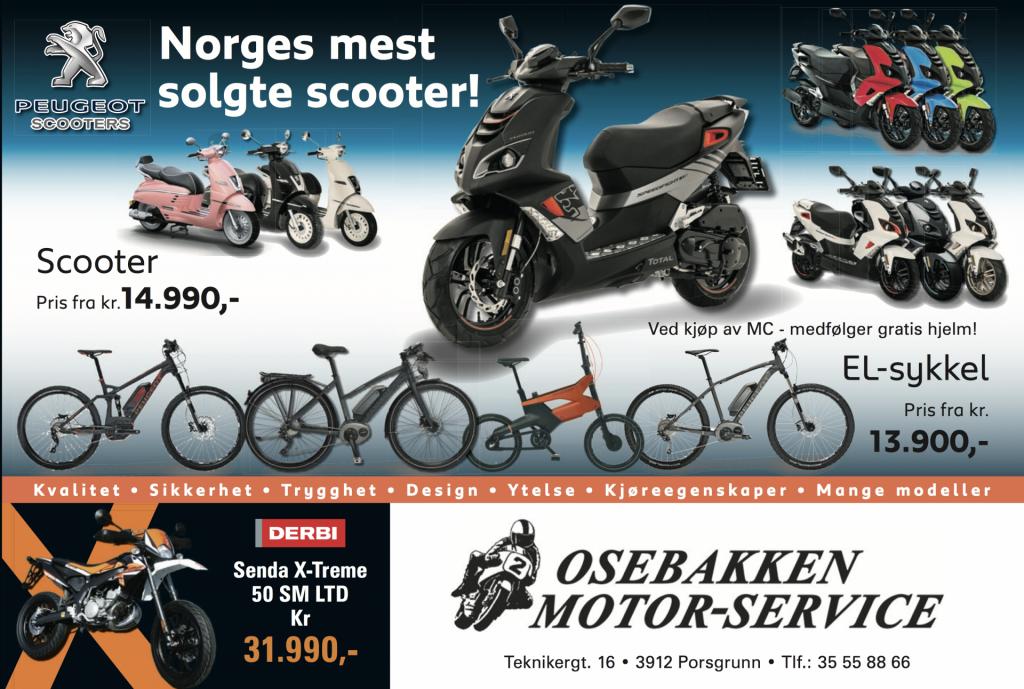 osebakken_peugeot_scooter_el-sykler_kvartside