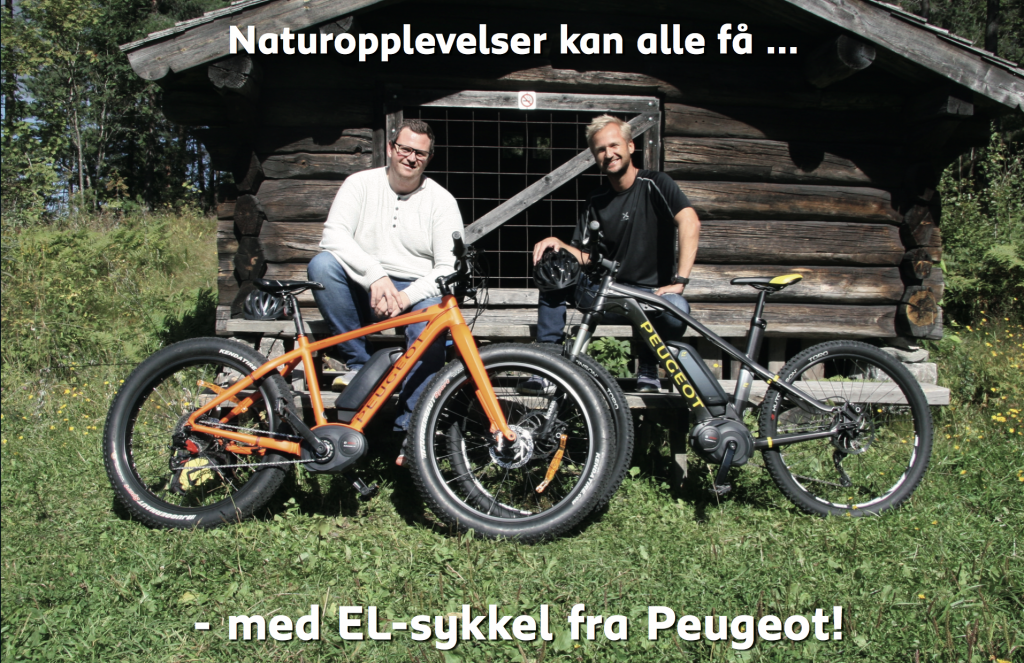 peugeot-sykler-kampanje