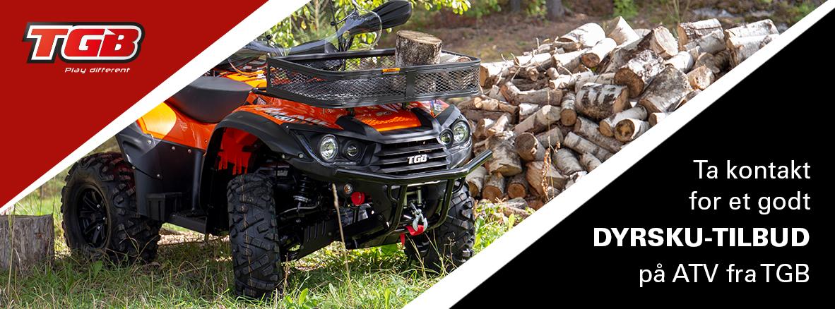 TGB ATV Dyrsku tilbud